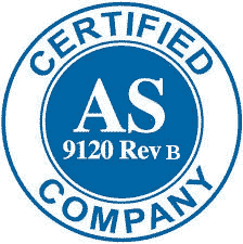 AS 9120B Certification logo